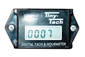 Tach/Hour Meters for Motors